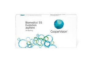 Cooper Vision Biomedics 55 Evolution BMEU6