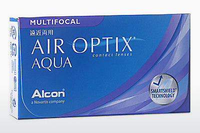 Piilolinssit Alcon AIR OPTIX AQUA MULTIFOCAL (AIR OPTIX AQUA MULTIFOCAL AOM6H)