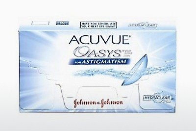 Piilolinssit Johnson & Johnson ACUVUE ADVANCE for ASTIGMATISM AGT-6P-REV