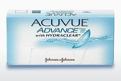 Piilolinssit Johnson & Johnson ACUVUE ADVANCE with HYDRACLEAR AVG-6P-REV