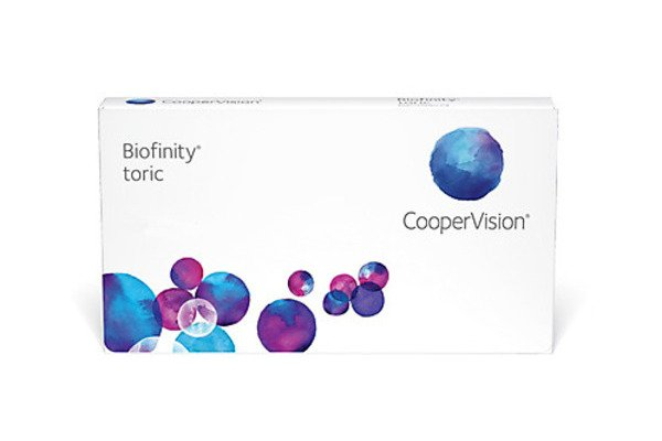 Cooper Vision Biofinity toric BFNTR6