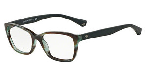 Emporio Armani EA3060 5388 STRIPED GREEN