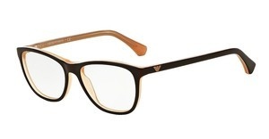 Emporio Armani EA3075 5480 BROWN ON TR PEACH