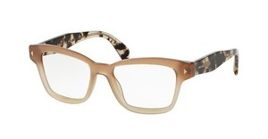 Prada PR 10SV UBI1O1 BROWN GRADIENT