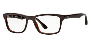 Ray-Ban RX5279 5226 TOP BROWN ON VARIEGATED BROWN
