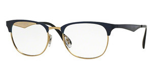 Ray-Ban RX6346 2872 TOP BRUSHED DK BLUE ON GOLD