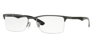 Ray-Ban RX8413 2893 GUNMETAL TOP ON GREY