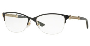 Versace VE1228 1291 BLACK/PALE GOLD