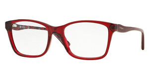 Vogue VO2907 2257 TRANSPARENT BORDEAUX