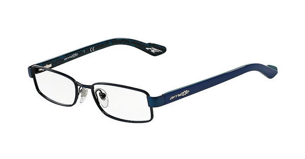Arnette AN6028 588 BRUSHED BLACK ON MATTE BLUE