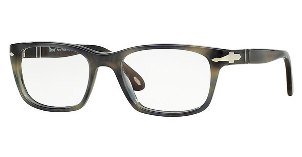Persol PO3012V 1017 STRIPPED GREY HAVANA