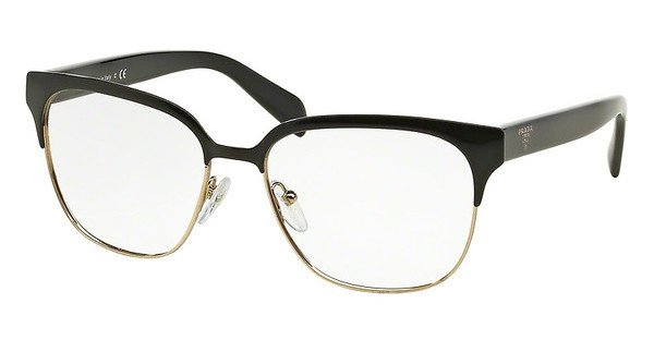 Prada PR 54SV 1AB1O1 BLACK/PALE GOLD