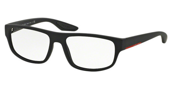 Prada Sport PS 03GV DG01O1 BLACK RUBBER
