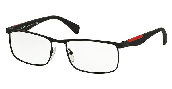 Prada Sport PS 54FV DG01O1 BLACK RUBBER