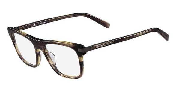 Salvatore Ferragamo SF2759 216 STRIPED BROWN