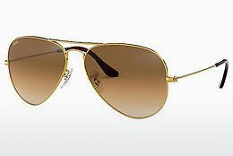 Aurinkolasit Ray-Ban AVIATOR LARGE METAL (RB3025 001/51) - Kulta