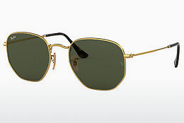 Aurinkolasit Ray-Ban Hexagonal (RB3548N 001) - Kulta