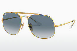 Aurinkolasit Ray-Ban The General (RB3561 001/3F) - Kulta