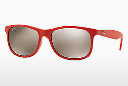 Aurinkolasit Ray-Ban ANDY (RB4202 61555A) - Punainen