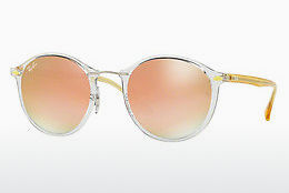 Aurinkolasit Ray-Ban Round Ii Light Ray (RB4242 6288B9) - Läpikuultava
