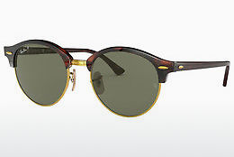 Aurinkolasit Ray-Ban CLUBROUND (RB4246 990/58) - Ruskea, Havanna