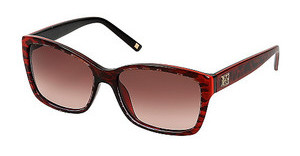 Escada SES307 0AQ4 BROWN GRADIENTLEOPARDO SFUM.ROSSO LUC.