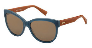 Max Mara MM TAILORED I LWS/8U DK BROWNBLUEORNGE