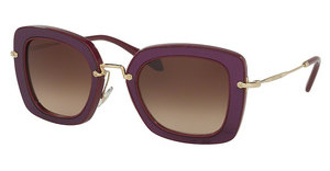 Miu Miu MU 07OS UFY6S1 BROWN GRADIENTAMARANTH