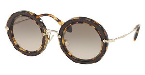 Miu Miu MU 08RS VIF3D0 GREY GRADIENT BROWNLIGHT HAVANA