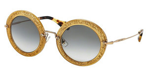 Miu Miu MU 13NS TKD0A7 GREY GRADIENTDARK YELLOW/SILVER