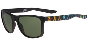 Nike UNREST EV0922 SE 003 MATTE BLACK/CINNIBAR WITH GREEN LENS LENS