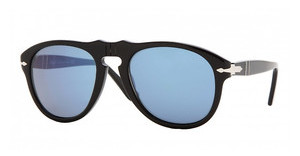 Persol PO0649 95/56 BLACK CRYSTAL BLUE