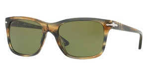 Persol PO3135S 10494E LIGHT GREENSTRIPPED BROWN GREY