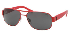 Polo PH3080 924387 GREYMATTE RED
