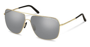 Porsche Design P8607 B mercury, silver mirroredlight gold