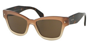 Prada PR 29RS UBI8C1 BROWNBROWN GRADIENT