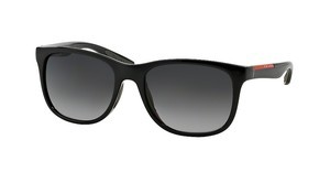 Prada Sport PS 03OS 1AB5W1 POLAR GREY GRADIENTBLACK