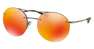 Prada Sport PS 54RS 5AV5M0 BROWN MIRROR ORANGEGUNMETAL