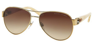 Ralph Lauren RL7047Q 928613 GRADIENT BROWNSHINY PALE GOLD
