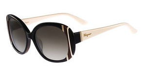 Salvatore Ferragamo SF674S 010 BLACK IVORY