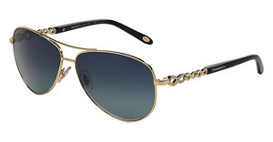 Tiffany TF3049B 61034U AZURE GRADIENT DARK BLUEPALE GOLD