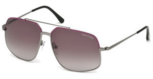 Tom Ford FT0439 73T bordeaux verlaufendrosa matt