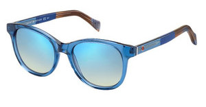 Tommy Hilfiger TH 1310/S W8K/DK FLASH BLUE SKYBL MLNGBW (FLASH BLUE SKY)