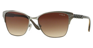 Vogue VO3949S 548/13 BROWN GRADIENTBRUSHED GUNMETAL