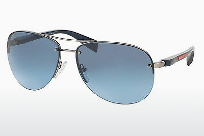Aurinkolasit Prada Sport PS 56MS (65) (PS 56MS 5AS5I1) - Hopea, Pewter