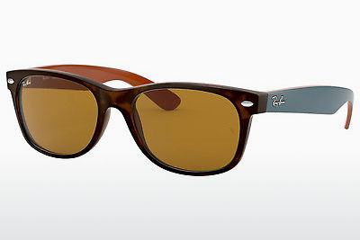 Aurinkolasit Ray-Ban NEW WAYFARER (RB2132 6179) - Ruskea, Havanna