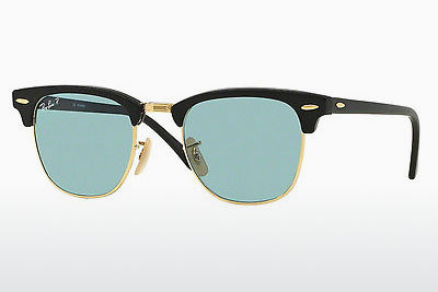 Aurinkolasit Ray-Ban CLUBMASTER (RB3016 901S3R) - Musta