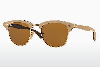 Aurinkolasit Ray-Ban CLUBMASTER (M) (RB3016M 1179) - Ruskea, Maple