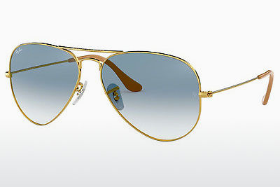 Aurinkolasit Ray-Ban AVIATOR LARGE METAL (RB3025 001/3F) - Kulta