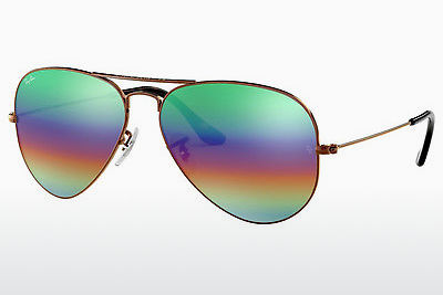 Aurinkolasit Ray-Ban AVIATOR LARGE METAL (RB3025 9018C3) - Ruskea